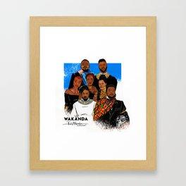"""BLACK PANTHER """"WAKANDA FOREVER"""" Framed Art Print"""