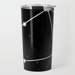 Libra Astrology Star Sign Night Sky Travel Mug