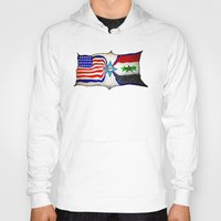flag Hoodies featuring Flag by ℳajd