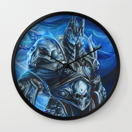 Lich King Wall Clock
