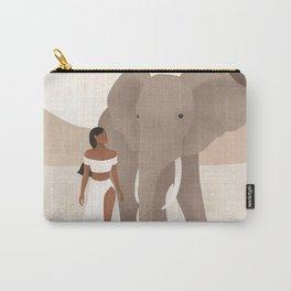 Spirit Animal – Elephant Carry-All Pouch