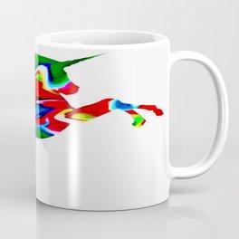 Watercolor unicorn-White Coffee Mug
