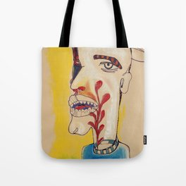 Ronald Harrington / Acrylic and Ink on paper Tote Bag