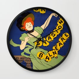 Vintage poster - Livorno Stagione Balneare Wall Clock