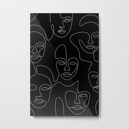Nighttime Portraits Metal Print