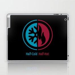 Half-Cold Half-Hot Laptop & iPad Skin
