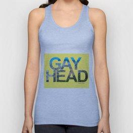 Gay Head Martha's Vineyard in Yellow Unisex Tank Top