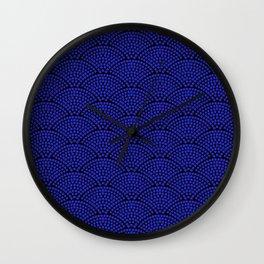 Purple Lotus Wall Clock