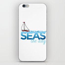 Seas the Day iPhone Skin