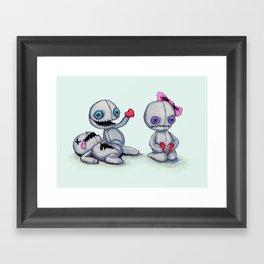 Plush Love Framed Art Print