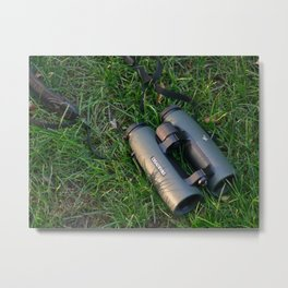 Swarovski Binoculars Metal Print