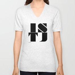 Type Type for ISTJ Unisex V-Neck