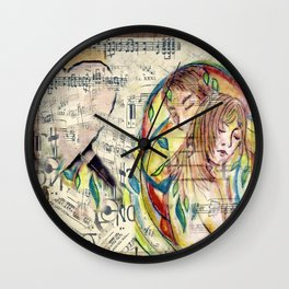 Someone to Hold Wall Clock