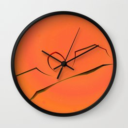 Structures of Silence #27 Wall Clock