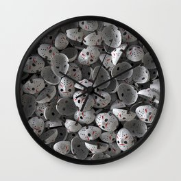 Full of Jason Voorhees Wall Clock