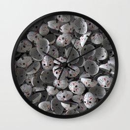 Full of Jason Voorhees Wall Clock