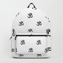Black and White OM Pattern Backpack
