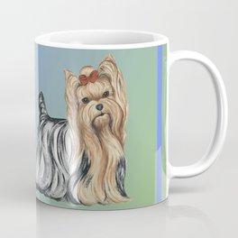 Yorkshire Terrier - Yorkie- by Nina Lyman of Dogs By Nina Coffee Mug
