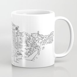 Ancient Rome roman forum Coffee Mug