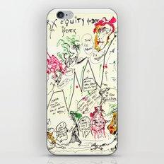Econographics iPhone & iPod Skin