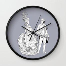 Duke and Duchess Wall Clock