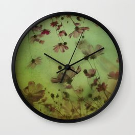 My soul is an imaginary garden Wall Clock