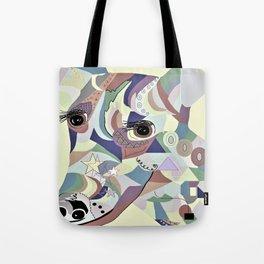 Smooth Fox Terrier Denim Colors Tote Bag