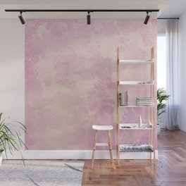 Vintage Floral Pattern in Lila Tones Wall Mural