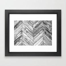 Antique Wood Framed Art Print