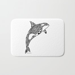 Tribal Orca Bath Mat