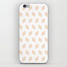 rhombus bomb in linen iPhone & iPod Skin