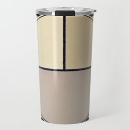 Toned Down - line graphic Travel Mug