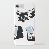 transformers iPhone & iPod Cases featuring Transformers G1 - Autobot Prowl by TracingHorses