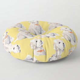 Cockapoo Pups Floor Pillow