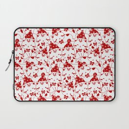 Winter Cats in Hats Laptop Sleeve