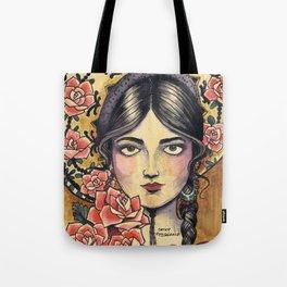 Sombrero Girl Tote Bag