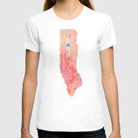 manhattan T-shirts featuring Manhattan  by Marta Olga Klara