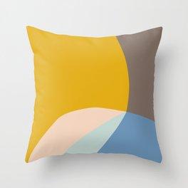 Organic Overlap Throw Pillow
