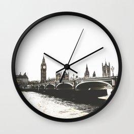 London 08 Wall Clock