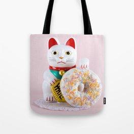 Maneki Donut Tote Bag