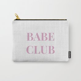 Babeclub white Carry-All Pouch
