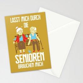 Altenpflegerin Senioren Brauchen Mich Stationery Cards