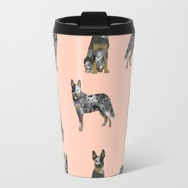Australian Cattle Dog blue heeler dog breed gifts for cattle dog owners Travel Mug