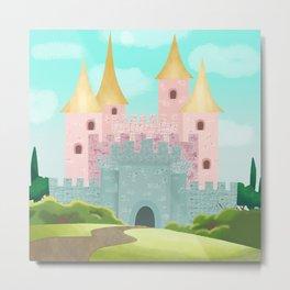 Princess Castle Metal Print