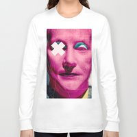 frank sinatra Long Sleeve T-shirts featuring Frank by Alec Goss