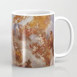The Apotheosis of Hercules by Francois Le Moyne. Coffee Mug