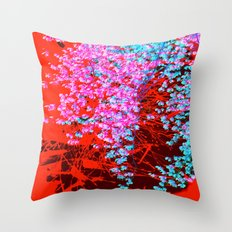 nature abstract 4443 Throw Pillow