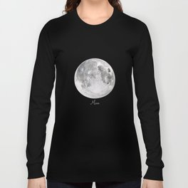 Moon #2 Long Sleeve T-shirt