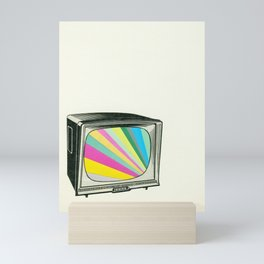 Your Programme Will Resume Shortly Mini Art Print