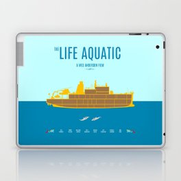 The Life Aquatic - Alternative Movie Poster Laptop & iPad Skin